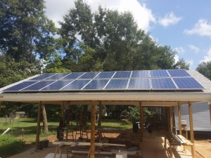 Carport  Solar  Wayne Friar Homes