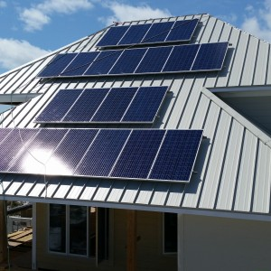 Metal Roof PV Florida Beach