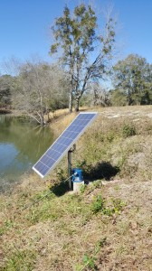 Solar Pond Aeration